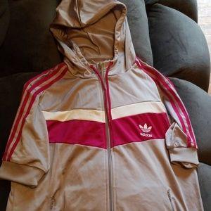 Adidas Zippy with hood